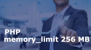 memory_limit 256MB